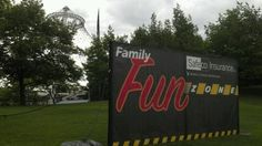 Its @Safecoinsurance Family zone @SpokaneHoopfest #Spokane