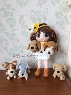 Crochet doll inspiration