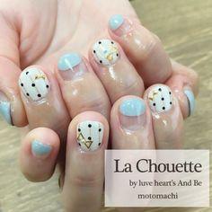ベリーショートガーリーnail♥︎  La Chouette by luve heart's And Be motomachi   TEL  0783917787