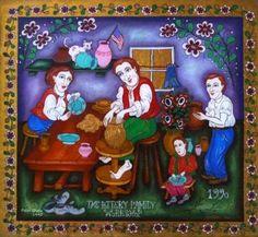THE FAMILY POTTERY WORKSHOP Pottery Workshop, Saatchi Art, Original Paintings, Frame, Decor, Picture Frame, Decoration, Decorating, Frames