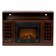Narita Media Console with Electric Fireplace