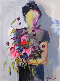 'Girls with flowers' by Raven Roxanne. Click through to see more!