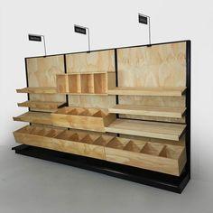 bakery bread display rack