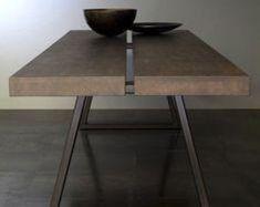 Tafelpoten in industriële stijl houten tafelpoten bureau | Etsy Stool, Table, Etsy, Furniture, Home Decor, Desk, Decoration Home, Room Decor, Tables