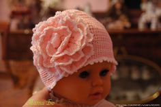 From Russia with love:  A pretty hat with flower