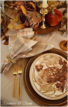 #tablescapes, #falltablescapes, #entertaining, #tablesettings, #gatherings, #potterybarn, #pheasants, #birds, #setthetable, #tabletop, #holidays, #lenox, #lenoxusa