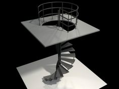 spiral staircase model - Google Search