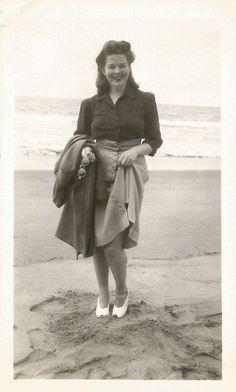 1940s fashion-vintag