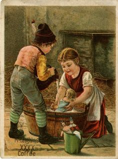 McLaughlin's Coffee trade card or promotional card