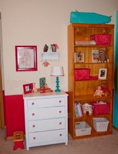 red + turquoise > accents