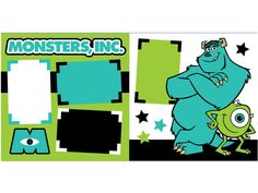 1000 images about monsters inc layouts on pinterest