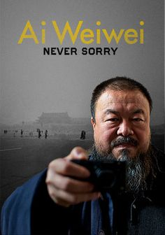 Ai Weiwei: Never Sorry is now on Netflix! Be sure to catch this extraordinary documentary that celebrates the Chinese artist and activist Ai Wei Wei