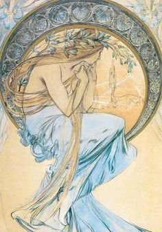 Learning Curve on the Ecliptic: Arty Farty Friday ~ Alphonse Mucha