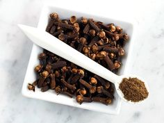 20 Pain Killers in your Kitchen - Cure a toothache with cloves    Got a toothache and can't get to the dentist? Gently chewing on a clove can ease tooth pain and gum inflammation for two hours straight, say UCLA researchers. Experts point to a natural compound in cloves called eugenol, a powerful, natural anesthetic. Bonus: Sprinkling a ¼ teaspoon of ground cloves on meals daily may also protect your ticker.