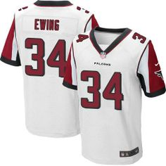 NFL Atlanta Falcons #34 Bradie Ewing Elite White Men Jersey