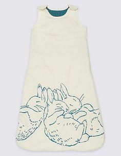 Pure Cotton 4 Tog Peter Rabbit™ Sleeping Bag | M&S