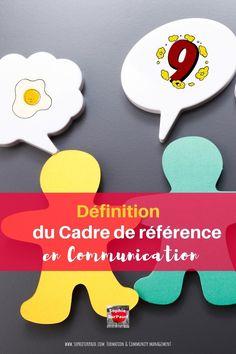 Définition du cadre de référence en #communication via @sophieturpaud Entrepreneurship, Mindset, Articles, Business, Women, Time Management, Social Media, Attitude, Store