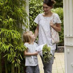 Des tuniques coordonnées pour mère et fille