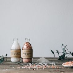 SHOP - because a bath is one of life's simple pleasures - Moroccan Rose Bath Salts - The Future Kept