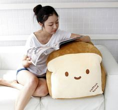 "Bread 28"" Super Size Plush Pillow Cushion Doll Room Home Decoration Cute Kawaii 