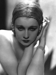 1920's screen siren Anita Page #celebstylewed #hair #wedding #bridal
