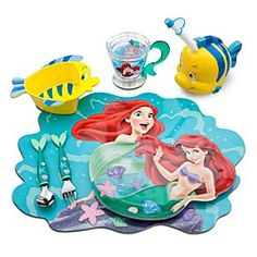 The Little Mermaid Meal Time Magic Collection