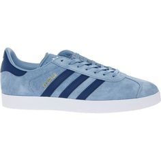 Blue Suede Gazelle Trainers