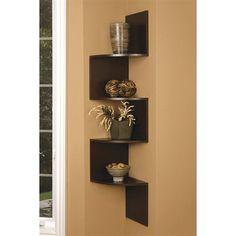 Nexxt Design FN01460-4 Provo Corner Wall Mounted Shelf