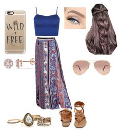 """""""Untitled #25"""" by tabbytha-walsh ❤ liked on Polyvore featuring WearAll, Breckelle's, Ray-Ban, Casetify and Allurez"""