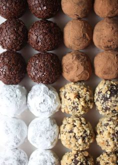 Chocolate Truffle Recipes - Use Nonnie Waller's Chocolate and you'll swear you've gone to heaven! -- http://nonniewallersparlor.com/