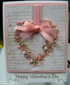 Pink Little Valentine by karensallen - Cards and Paper Crafts at Splitcoaststampers