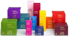 Beyond organic skincare from @ila spa... wait till you see the inside of the packaging!