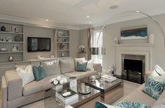 Classic gray living room