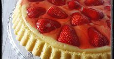 Retro gyümölcstorta Hungarian Recipes, Tart, Main Dishes, Cheesecake, Dinner Recipes, Pie, Vegetarian, Cookies, Sweet