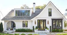 Find, Finance & Furnish Your Dream Home with Rocket.Haus Get early access now! Tudor Style Homes, Colonial Style Homes, French Style Homes, French Colonial, Craftsman Style Homes, Country French, Cottage Style House Plans, Cottage Style Homes, Craftsman Cottage