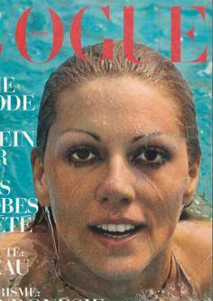 #kikiCaron #ChristineCaron #Vogue #natation #piscineCaron