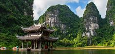 NINH BINH is the capital of the province of Ninh Binh in Vietnam. ➤ The historic first capital of Vietnam - Hoa Lu. Travel guide and travel tips for Ninh Binh. North Vietnam, Red River, The Province, Hanoi, Historical Sites, Travel Guide, Scenery, Boat, Trips