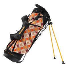 Loudmouth Golf Bag in Havercamps print.
