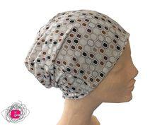 Beaniemützen - Beanie, Wendemütze, Mütze off white - grau - ein Designerstück von Fadenelemente bei DaWanda