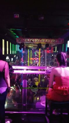 Club Insomnia Pattaya Thailand VIP section.  #Pattaya #Thailand #Nightlife