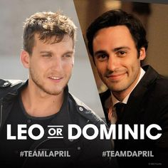 #TeamLapril or #TeamDapril? #ChasingLife