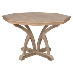 Octagon Wooden Dining Table, Small #dining #table #freedelivery