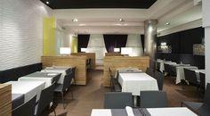 Avenida XXI Cafeteria. Breakfasts from 7am, meals and afternoon tea. Menu of the day, dish of the day. Pintxos (tapas) bar. Air conditioned glazed terrace right on the avenue. Top pintxo: Avendida XXI pancake #SanSebastian #Restaurant #Euskadi #tapas #pintxos
