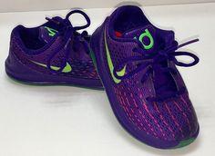 KD Kevin Durant 8 The Suit Child US Size 6C Nike Purple Pink Neon Shoes #KDKevinDurantTheSuitChildUSSize6CNike