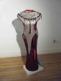 Chain mail dress made from pop tabs..wwaaaahhhh?