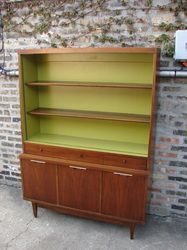 Awesome Mid Century Modern Buffet Hutch -