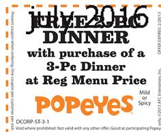 Popeyes Chicken Coupons Ends of Coupon Promo Codes JUNE 2020 ! Is chain the Miami, founded Popeyes headquarters was it In the is their. Kfc Printable Coupons, Kfc Coupons, Shopping Coupons, Grocery Coupons, Love Coupons, Online Coupons, Free Printables, Franchise Restaurants, Popeyes Chicken