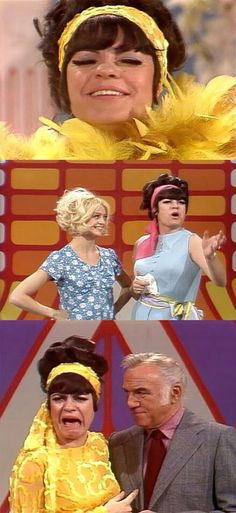 Goldie Hawn and Joanne Worley on Laugh-In