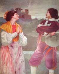 Alessandro Manzoni I promessi sposi Ill. di A.Vicenzi
