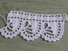 - a grouped images picture Crochet Boarders, Crochet Edging Patterns, Crochet Lace Edging, Vintage Crochet Patterns, Crochet Motifs, Filet Crochet, Crochet Designs, Crochet Doilies, Crochet Flowers